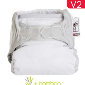 Pop-In Single Nappy_Snowball White_Bamboo